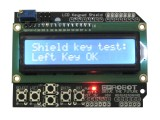16x2 LCD 1602 Keypad Shield for Arduino White on Blue Screen/Backlight