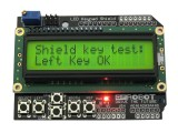 Keypad Shield 16x2 LCD 1602 for Arduino Black Text on Yellow-Green Backlight