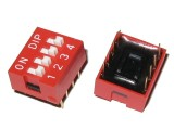 DIP Switch 4-positions