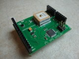 I2C GPS Shield for Arduino