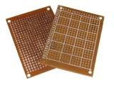 FR1 (Heliotype/Bakelite) Prototyping PCB 70 x 50mm w/ 432 Pads