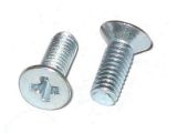 M2.5 x 8mm Machine Screw Philips/Flat/Steel/Zinc