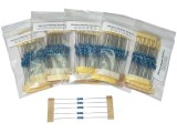 Resistor Set 61 Value 5ea 10R-1M ±1% 0.25W Total 305pc