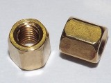 Brass Hex Standoff 5.25mm x 5mm Total 5mm M3 Thread