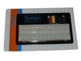 Solderless Breadboard 830 Tie Points w/ Back Board