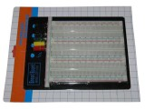 Solderless Breadboard 2390 Tie Points w/ Back Board No Retail Package