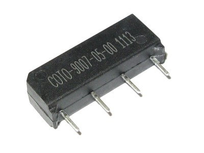 Reed SPST-NO Relay 5V - 500mA@200V 9007-05-00