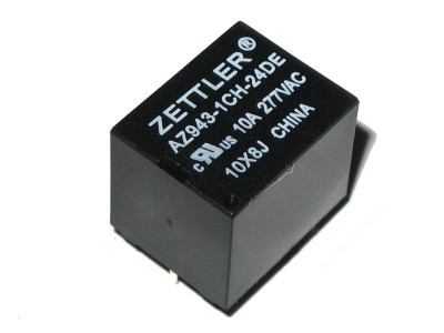 Subminiature SPDT Relay 24V - 15A@125VAC AZ943-1CH-24DE
