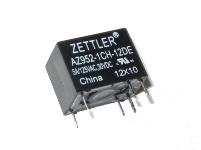 Subminiature SPDT Relay 12V - 5A@125VAC AZ952-1CH-12DE
