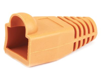 Network Cable CAT5/CAT5E/CAT6 RJ45 Boot/Cap Orange