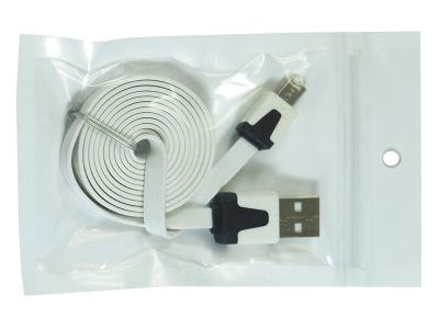 Micro USB Sync/Charger Cable White 1m