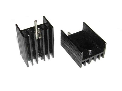 TO220 Heatsink Vertical Mount with Pin