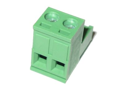 "2pin 0.2"" / 5.08mm Pluggable Screw Right Angle Terminal Block (5mm)"