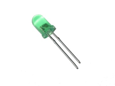 Green LED ø 5mm Diffused Green