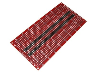 Prototyping PCB 114 x 57mm w/ 840 Pad + SMT (Red)