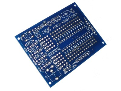 28-pin Microchip PIC Prototyping PCB