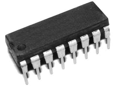 74HC595 8-bit Serial-In Parallel Out Shift Register