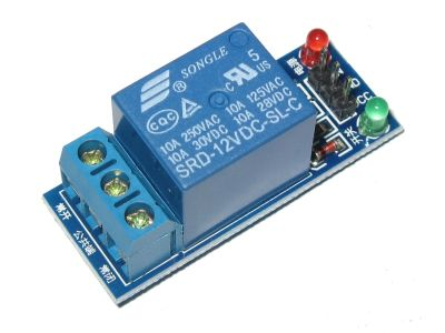 1-Channel 12V Relay Module 250V/10A for Arduino AVR PIC