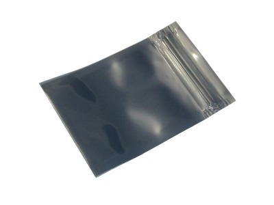 Zip Top 130mm x 90mm ESD Anti-Static Shielding Bag