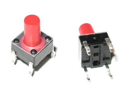 Pushbutton for PCB Top E-Switch TL1105BF250Q