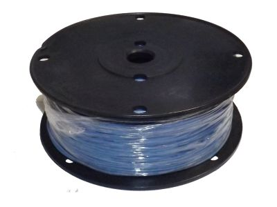 Hookup Wire UL1007 22 AWG 7 Strain Tinned Copper PVC Jacket Blue