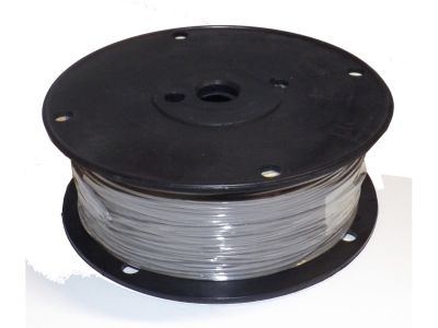 Hookup Wire UL1007 22 AWG 7 Strain Tinned Copper PVC Jacket Gray