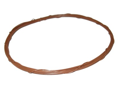Wrapping Wire Tin Plated Copper AWG30 Brown 20ft