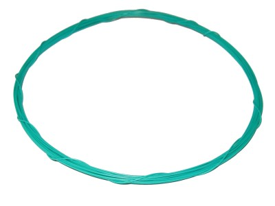 Wrapping Wire Tin Plated Copper AWG30 Green 20ft