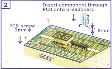 Using QB -2 - Insert Components through PCB
